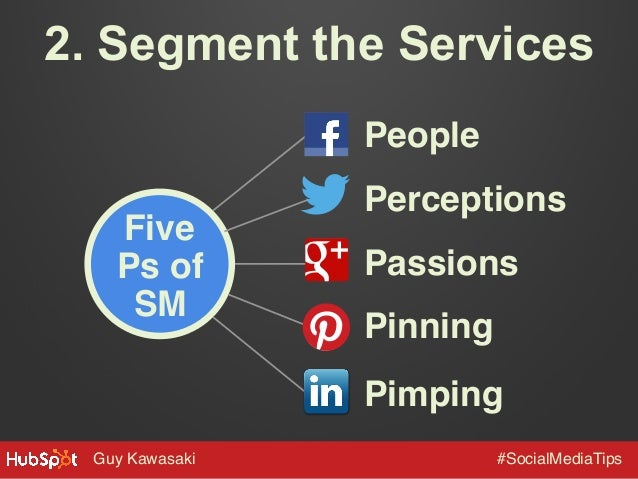 "2. Segment the Services People"" Five