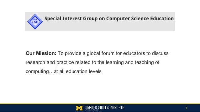 Computing Education as a Foundation for 21st Century Literacy Slide 3