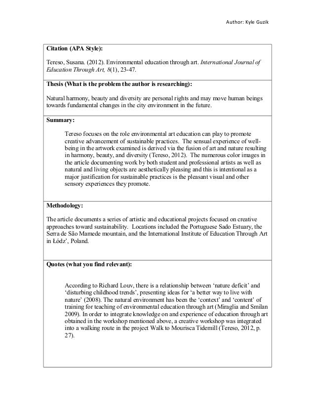 an annotated bibliography on the importance of fine arts education An annotated bibliography compiled by  ----------(1997) the hard sciences  and the humanities, biochemical education 25, no  the role of art in the  scientific renaissance, in critical problems in the history of science, ed  marshall.