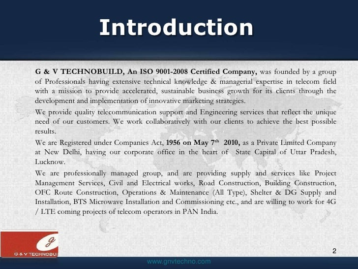 Introduction To Building Services Ppt