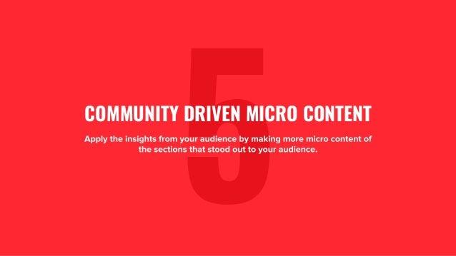 The GaryVee Content Model Slide 26