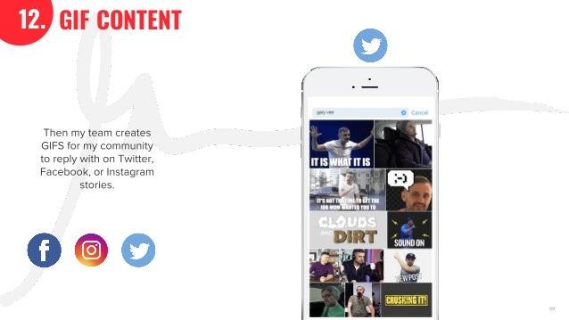 The GaryVee Content Model Slide 69