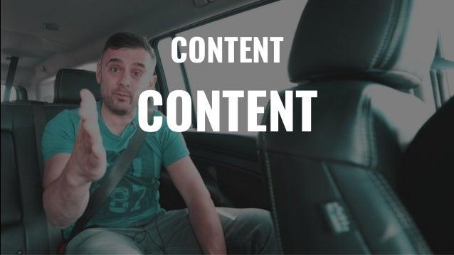 The GaryVee Content Model Slide 79