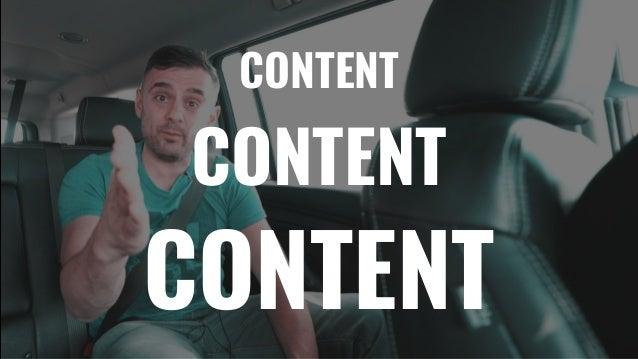 The GaryVee Content Model Slide 80
