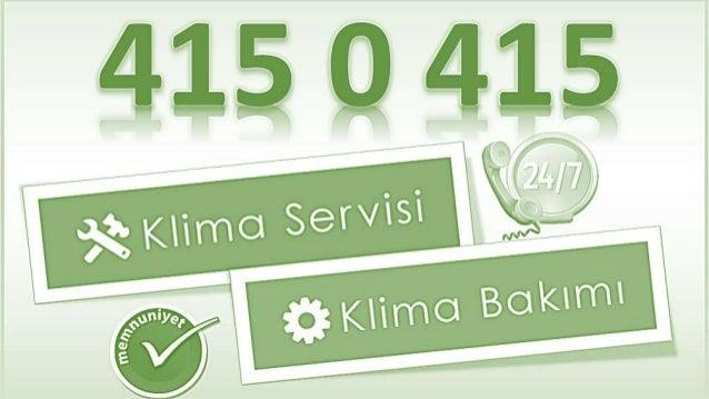 Servis KLima General _/.509_84_61_ Mehterçeşme General Klima Servisi, bakım