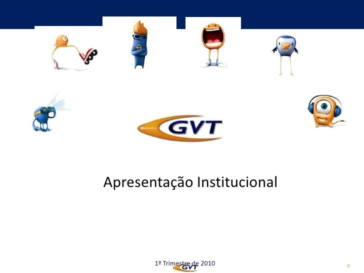 Apresentação Institucional<br />1º Trimestre de 2010<br />