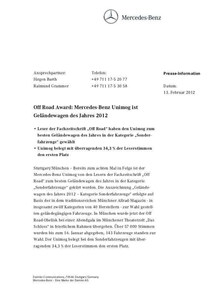 Ansprechpartner:                          Telefon:                  Presse-InformationJürgen Barth                        ...