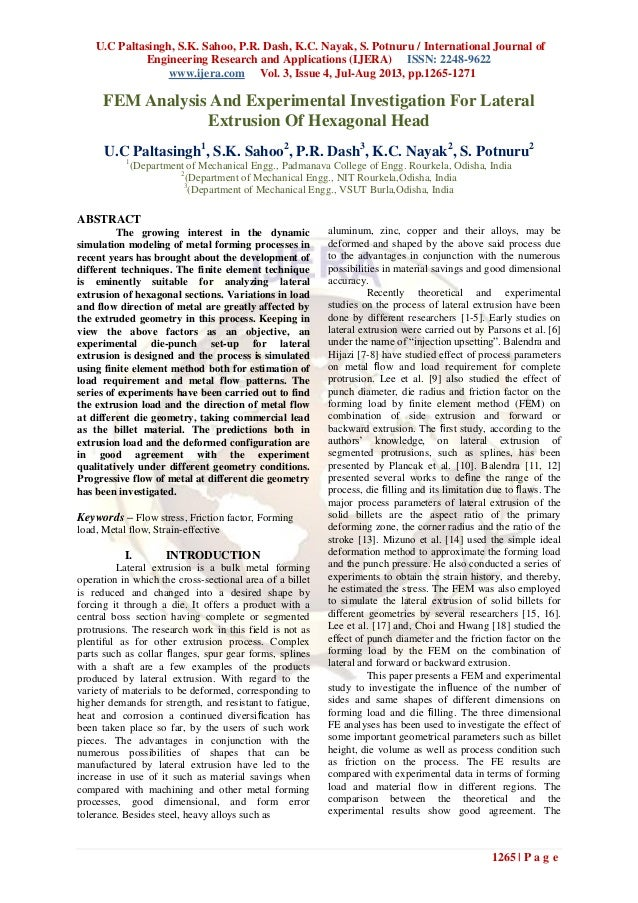 U.C Paltasingh, S.K. Sahoo, P.R. Dash, K.C. Nayak, S. Potnuru / International Journal of Engineering Research and Applicat...