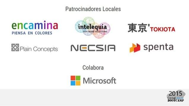 Diseña tu propio Office 365 - Global Azure Bootcamp 2015 Slide 2