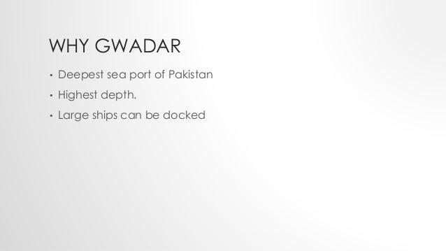 importance of gwadar port for pakistan