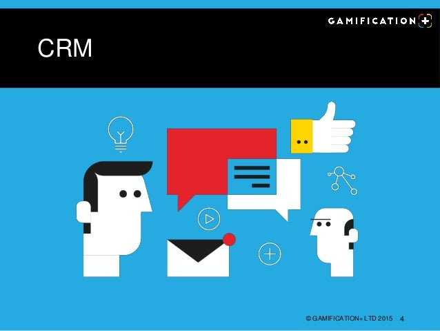 CRM © GAMIFICATION+ LTD 2015 4