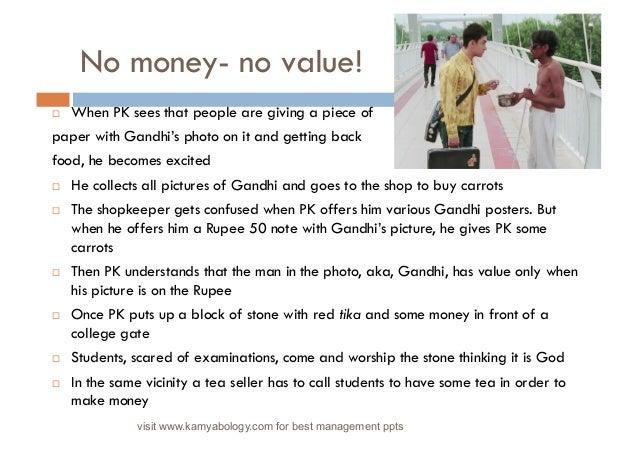 gandhi movie reaction paper