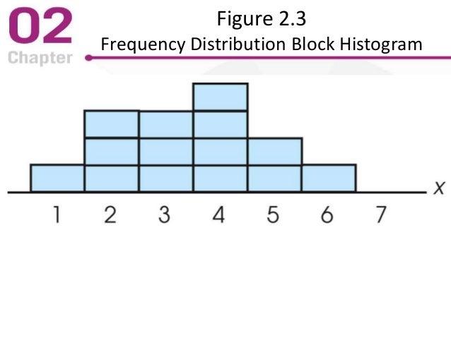 Figure 2.3 Frequency Distribution Block Histogram