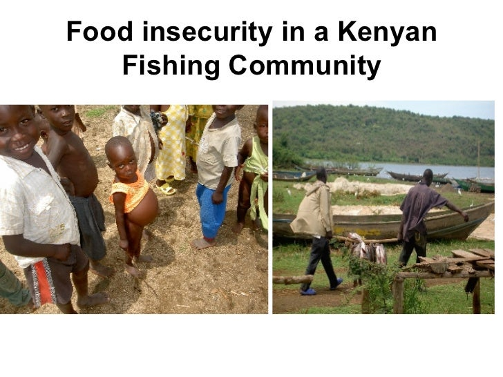 Food insecurity in a Kenyan Fishing Community
