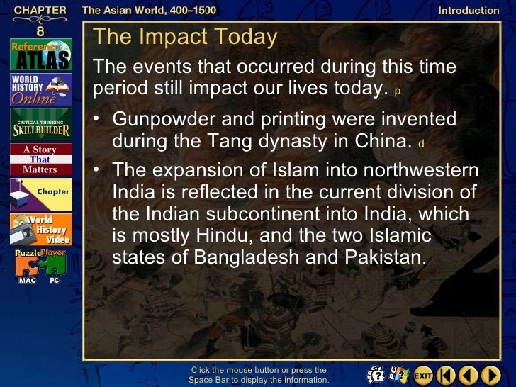 impact of islam on subcontinent culture Influence of islam on indian culture pattern was evolved which may be called indo-islamic culture distinctly noticeable impact of islam on hinduism.