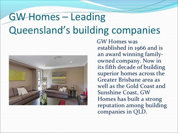 Gw Homes gw homes categories