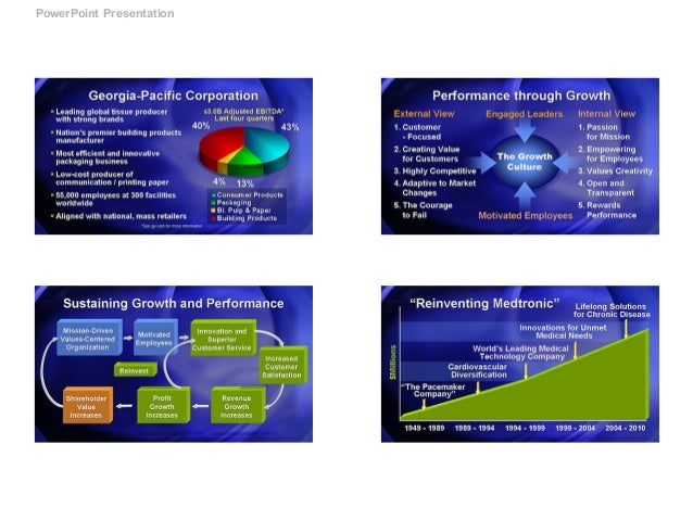 presentation template samples