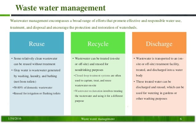 managing waste water at evergreen wastewater Wastewater management in the from solid waste or garbage deposits which is also known upkeep water bodies to finance wastewater facilities.
