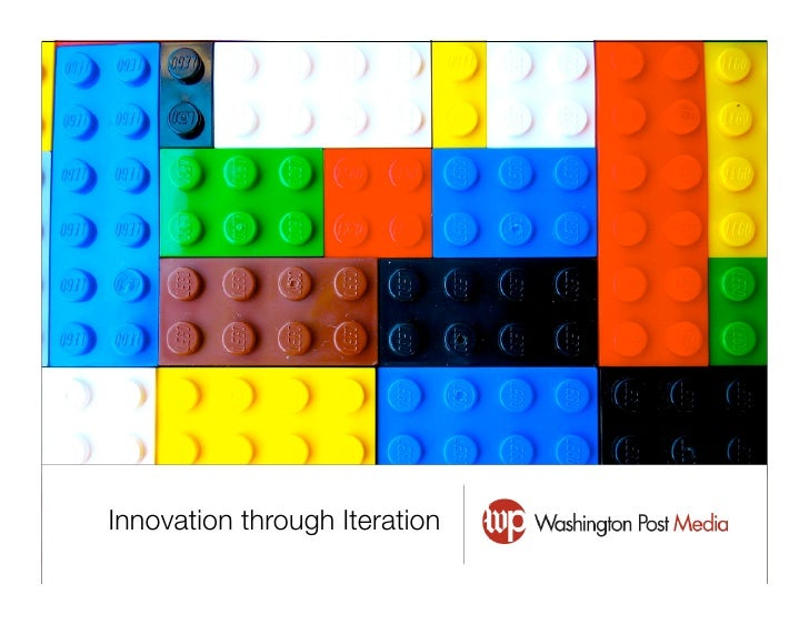 Innovation through Iteration