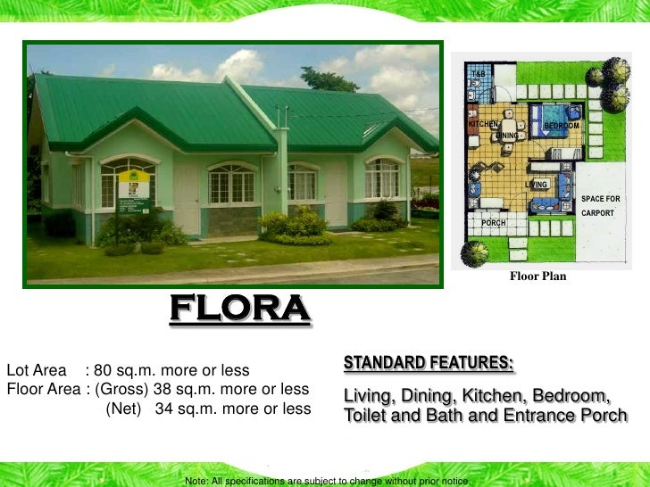 Philippine House And Lot Floor Plans