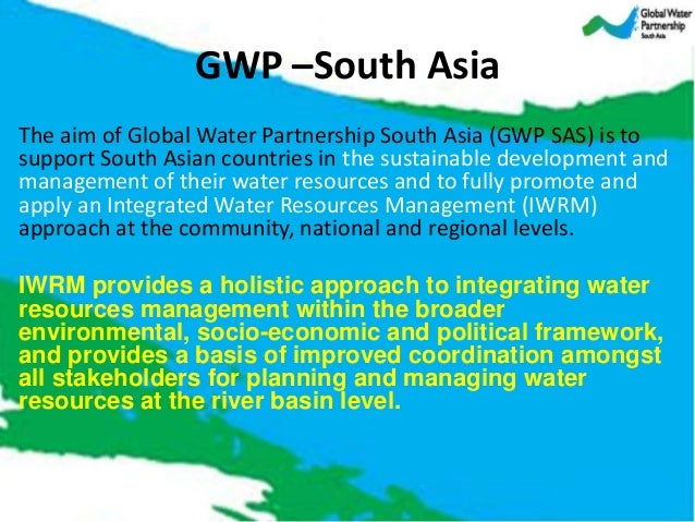 Gwp south asia presentation south asia palimentarians and for Environmental management bureau region 13