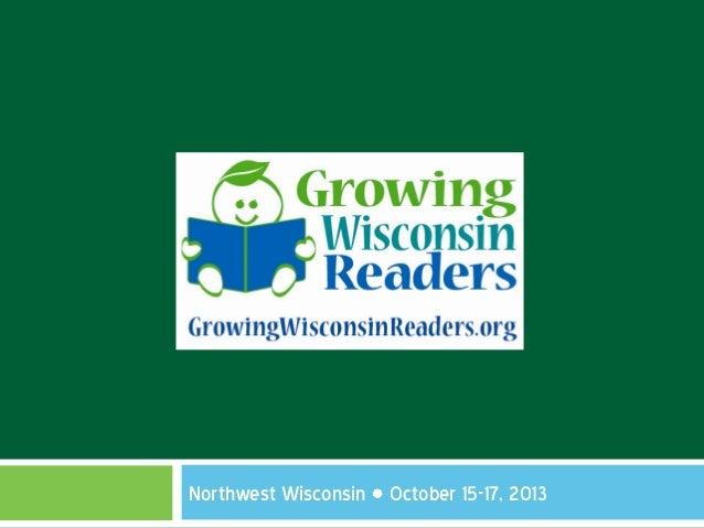 Northwest Wisconsin October 15-17, 2013