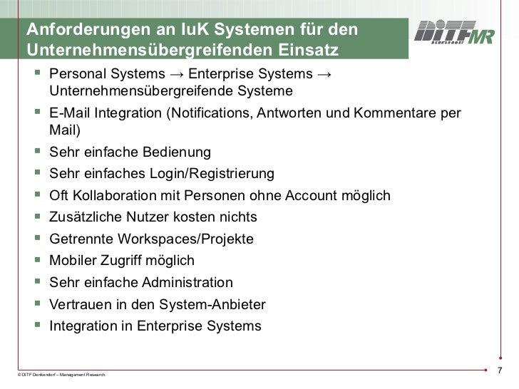 Anforderungen an IuK Systemen für den    Unternehmensübergreifenden Einsatz      Personal Systems → Enterprise Systems → ...
