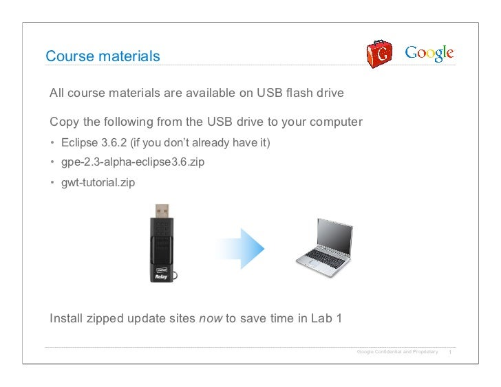 Course materialsAll course materials are available on USB flash driveCopy the following from the USB drive to your compute...