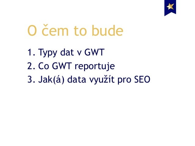 Google Webmaster Tools a SEO - Lukáš Pokorný Slide 2