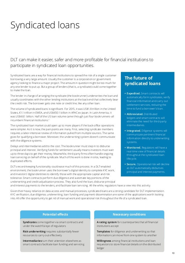 Deloitte - Blockchain And The Future Of Financial Infrastructure - Fi…