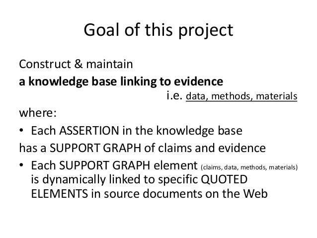 Using the Micropublications ontology and the Open Annotation Data Model to represent evidence within a drug-drug interaction knowledge base--LISC2014--2014-10-19 Slide 2