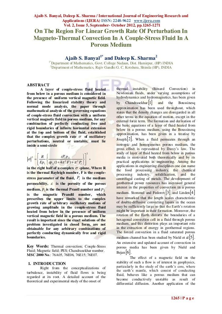 Ajaib S. Banyal, Daleep K. Sharma / International Journal of Engineering Research and                       Applications (...