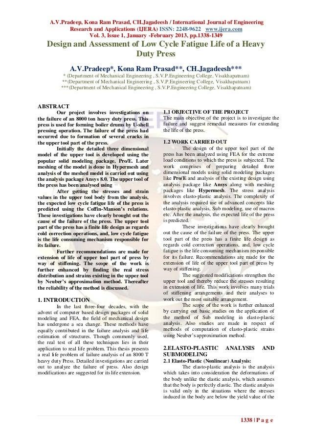 A.V.Pradeep, Kona Ram Prasad, CH.Jagadeesh / International Journal of Engineering            Research and Applications (IJ...