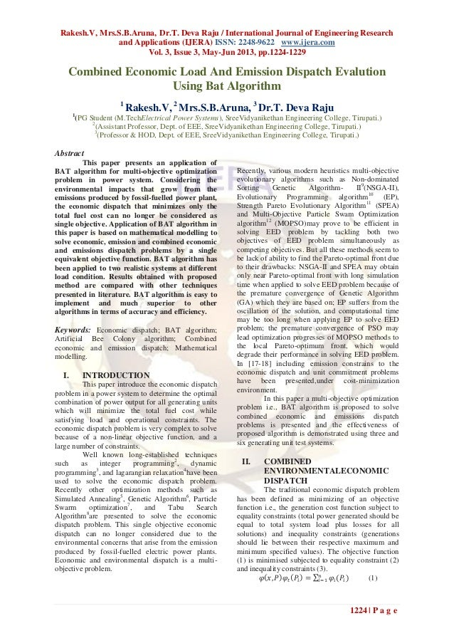 Rakesh.V, Mrs.S.B.Aruna, Dr.T. Deva Raju / International Journal of Engineering Researchand Applications (IJERA) ISSN: 224...