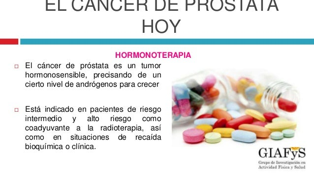 Hormonoterapia para cancer de prostata