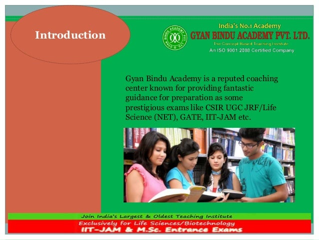 Introduction Gyan Bindu Academy is a reputed coaching center known for providing fantastic guidance for preparation as som...