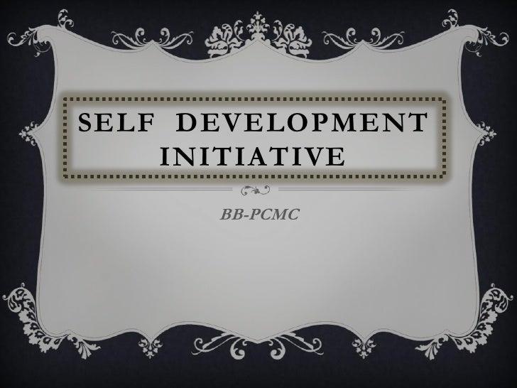 SELF DEVELOPMENT    INITIATIVE      BB-PCMC