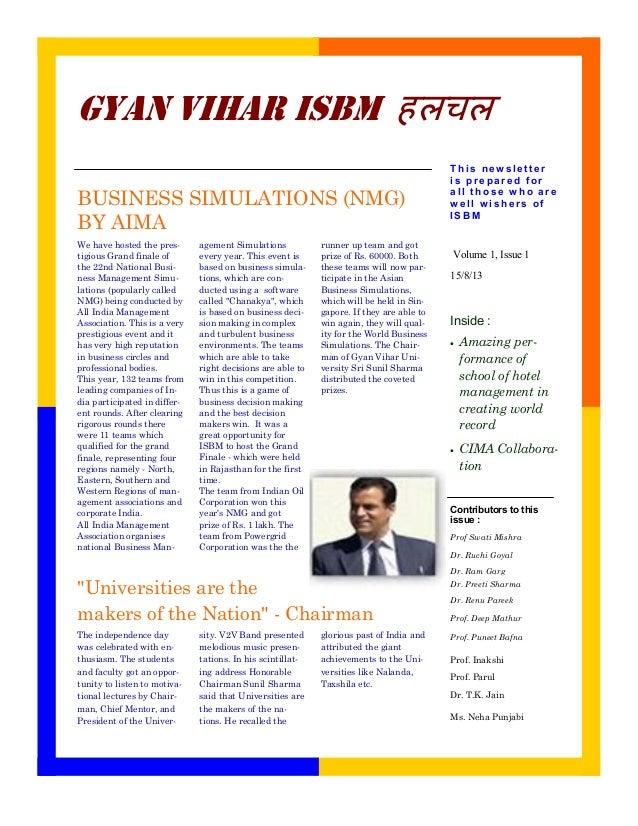 Contributors to this issue : Prof Swati Mishra Dr. Ruchi Goyal Dr. Ram Garg Dr. Preeti Sharma Dr. Renu Pareek Prof. Deep M...