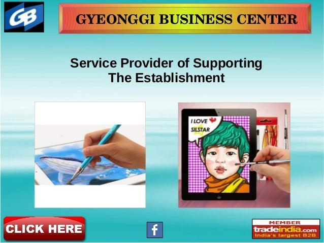 GYEONGGIBUSINESSCENTER Service Provider of Supporting The Establishment