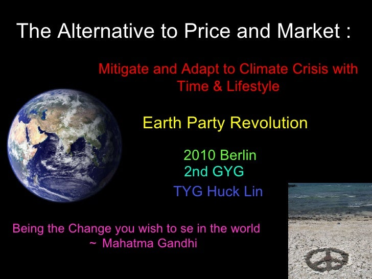 2010 Berlin GYG Climate Crisis; Time Solution--Enilish