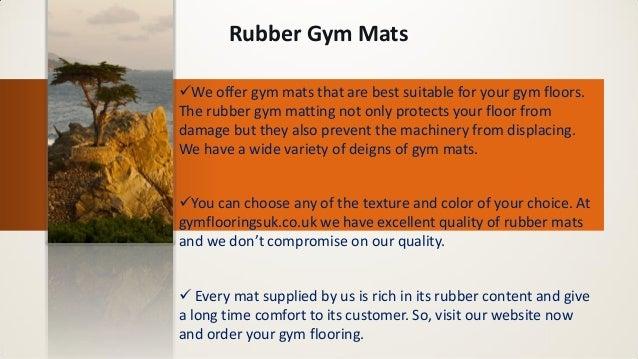 Rubber Gym Flooring Slide 3