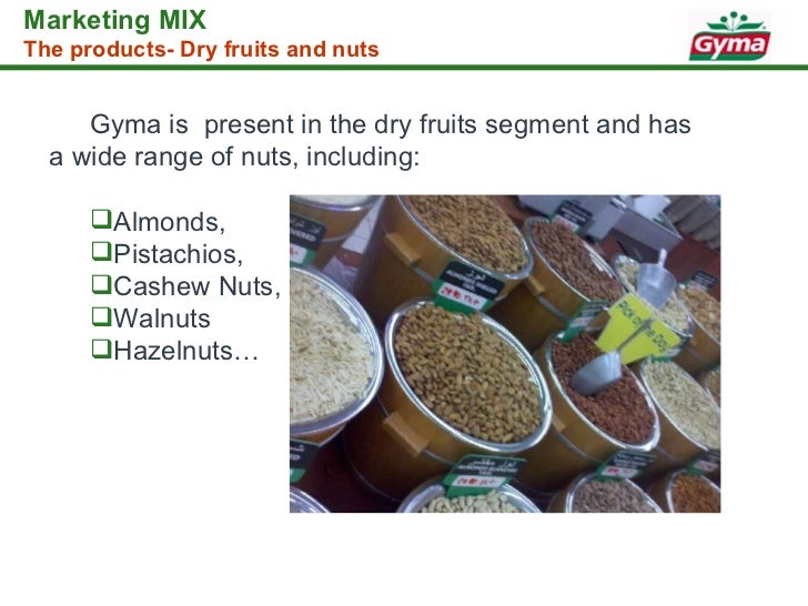 Gyma Food Industries Products