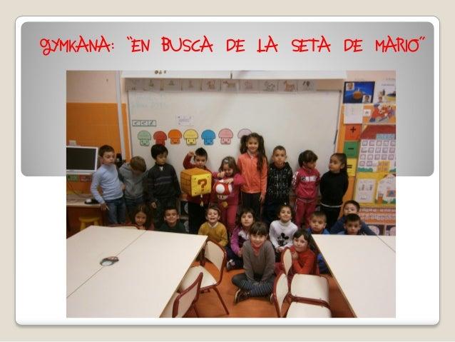 """GYMKANA: """"EN BUSCA DE LA SETA DE MARIO"""""""