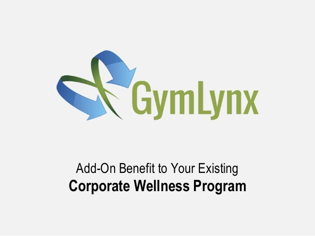 Add-On Benefit to Your Existing Corporate Wellness Program
