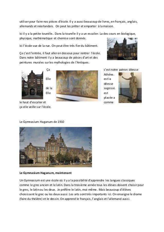 Gymnasium La Haye Slide 2