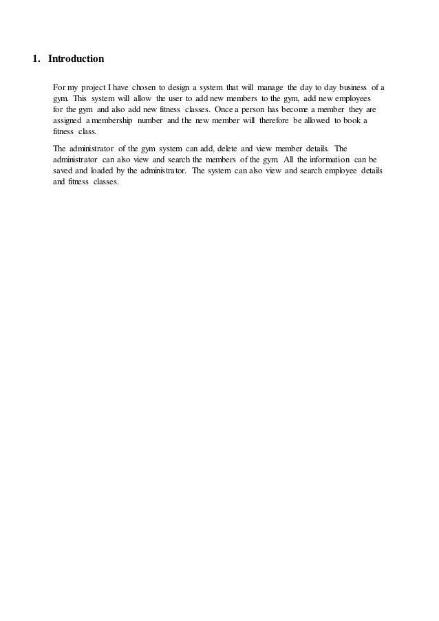 Gym Management System User Manual Slide 3