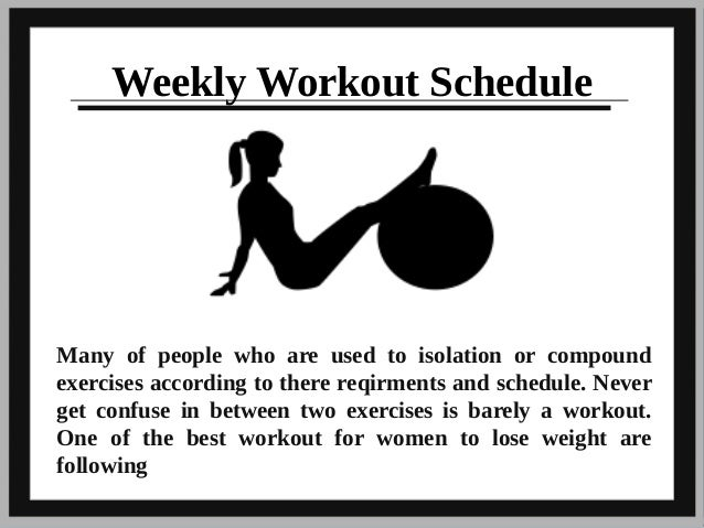 gym workouts to lose weight pdf