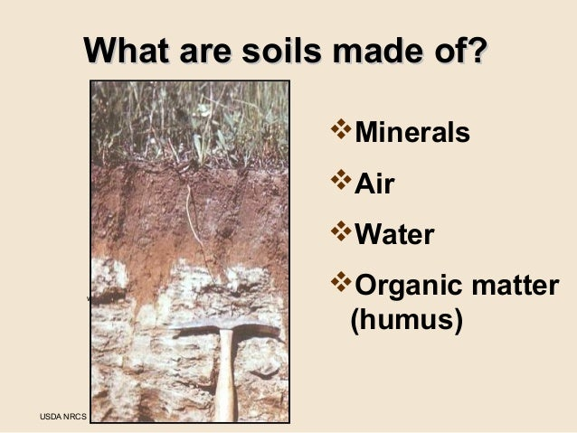 Grow your own nevada fall 2012 gardening in nevada 39 s soils for Mineral soil vs organic soil