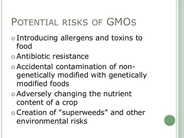the health impact of gmos essay Gmos often make news related to the environment, world hunger, the economy, politics, and yes, even health those against them say eating foods made from gmos is bad for you.
