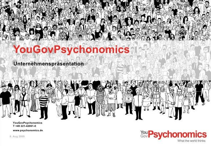 YouGovPsychonomics<br />Unternehmenspräsentation<br />